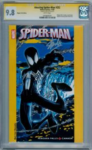 Amazing Spider-man #252 Niagara Variant CGC 9.8 Signature Series Signed Stan Lee  Marvel comic
